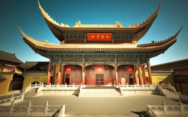 天宁寺的特殊位置,分出了世俗与尘外