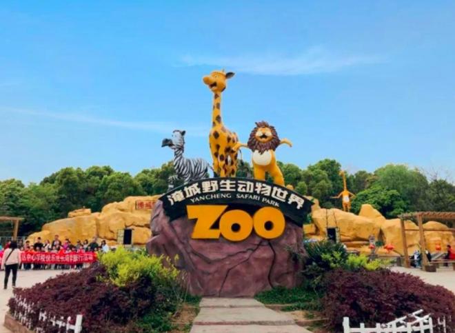 淹城野生动物世界:现实版疯狂动物城上线